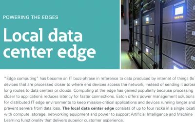 Eaton Local data center edge