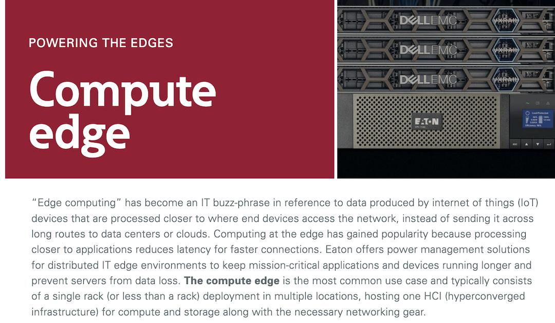 Eaton Compute edge