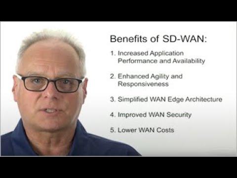 Benefits of SD-WAN