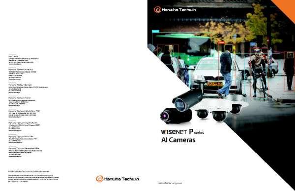 Wisenet P Series AI Cameras