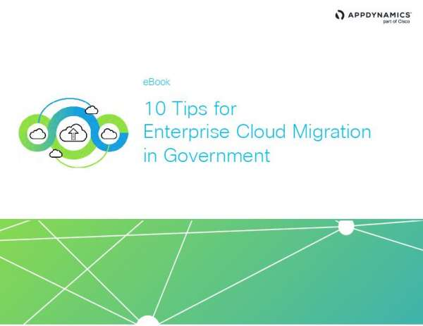10 Tips for Enterprise Cloud Migration in Government